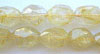 Yellow Rutilated Quartz Faceted Nugget