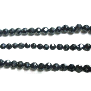 Very Beautiful Good quality Black Spinel Round Facet Beads. We can supply all sizes and shapes at very reasonable price.