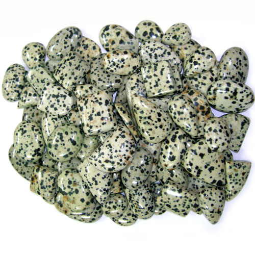 Wholesale cab lot natural Dalmatian Jasper stone. Per pc Weight 5-15 gm Approx. Total lot weight - 1000 gm or 5000 ct. Total lot value pack - $ 85 USD