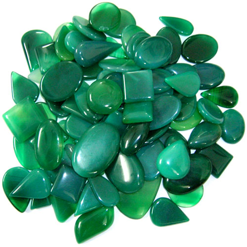Wholesale cab lot natural Chalcedony stone. Per pc Weight 5-15 gm Approx. Total lot weight - 1000 gm or 5000 ct. Total lot value pack - $ 105 USD
