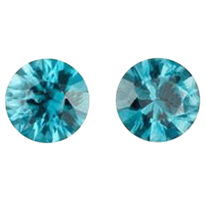 Very beautiful good quality Blue Zircon Round Cut. We can supply large quantity at very reasonable price.